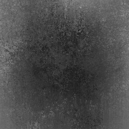 Abstract black background with aged vintage grunge background texture, elegant monochrome background with distressed chalkboard background center and faded white and gray grunge border photo