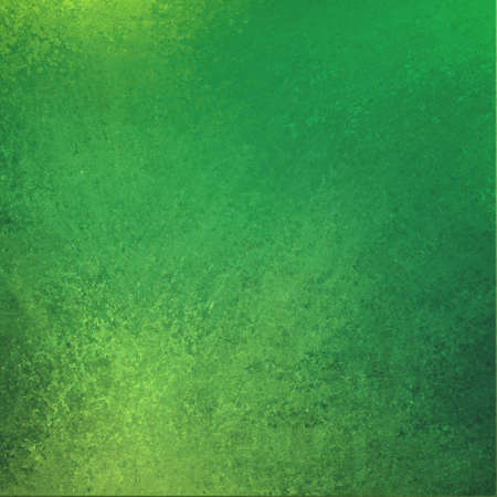 green background. vintage grunge texture background design. yellow green color shiny wall paint. photo