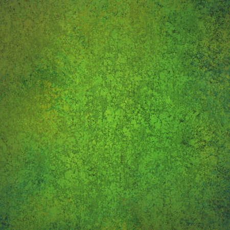 solid green background with grunge border texture design, old green paper, distressed grungy wall paint