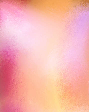 smeary: orange pink and gold background with highlights Stock Photo