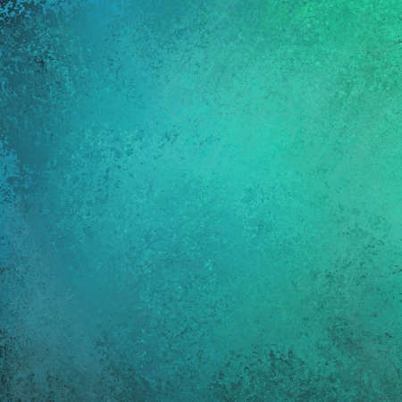 blue backgrounds: abstract blue green background textured wall Stock Photo