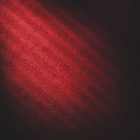 black red striped background or luxury background, abstract bright spotlight red corner light, vintage pattern background texture photo