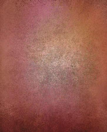 pink orange background paper, vintage texture and distressed black grunge border