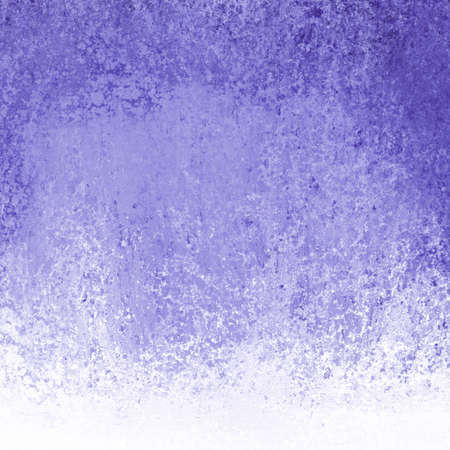 smeared: cool purple blue background, white grunge border texture with smeared white paint design, fun colorful purple backdrop Stock Photo