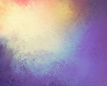 beautiful colorful background design, textured rainbow of color stripes with grunge paint illustration, stripes of orange yellow green and blue 版權商用圖片