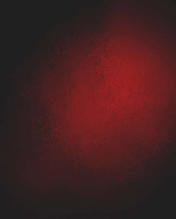 solid color: abstract red background, black shadow border frame, vintage grunge background texture, red paper layout design, red plastered wall