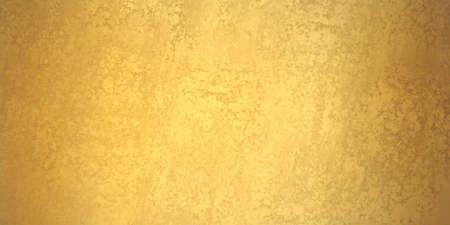 gouden achtergrond banner, textuur is oude vintage noodlijdende massief gouden kleur met ruwe peeling verf