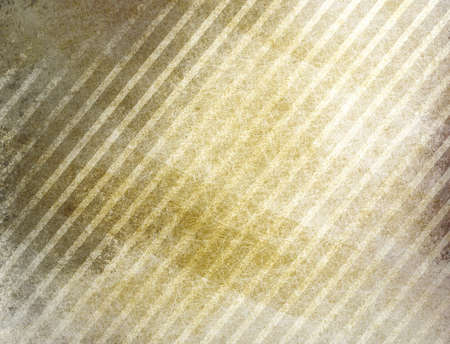diagonal: gold background with white stripes in diagonal pattern and faint gray grunge messy texture