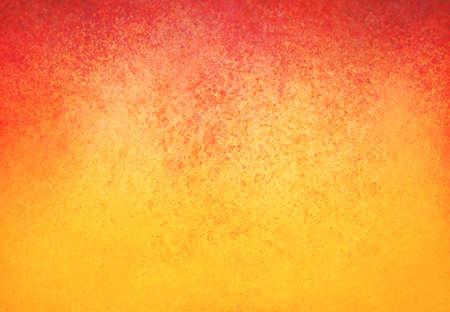 빨간색 테두리와 고민 텍스처 디자인 노란색 오렌지 배경