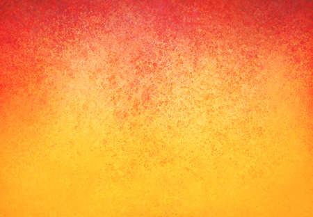 red paint: yellow orange background with red border and distressed texture design