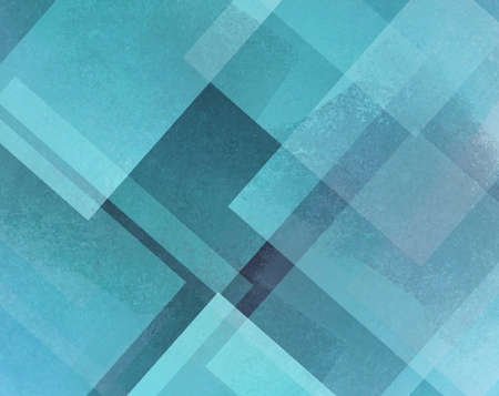 diamond shaped: abstract background blue and white square and diamond shaped transparent layers in diagonal pattern background