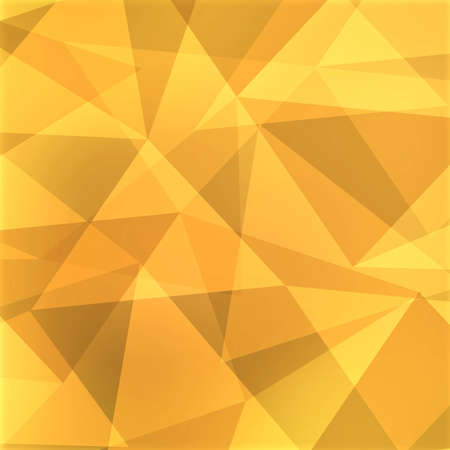 angled: abstract triangle background, yellow, brown, gold, and orange angled shapes in random design