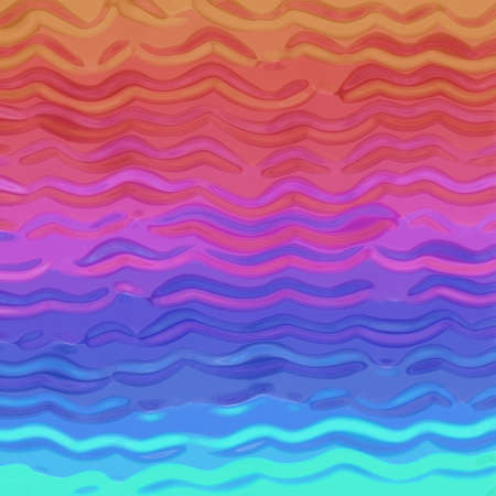abstract rainbow colors reflected in wavy background texture photo