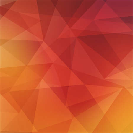 angled: abstract triangle background, burgundy red orange yellow and pink angled shapes in random design Stock Photo