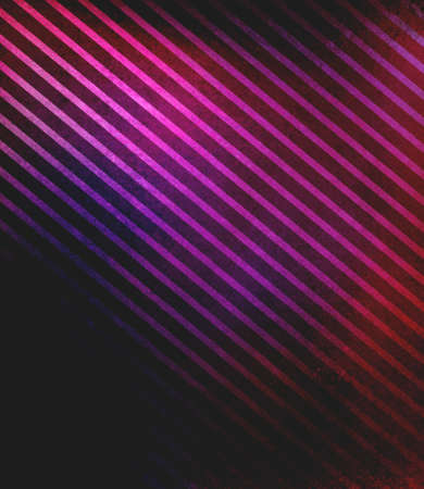 diagonal stripes: black background with purple pink stripes in diagonal pattern and faint texture