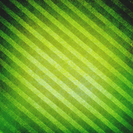 diagonal lines: green striped background, vintage texture on diagonal lines background pattern Stock Photo