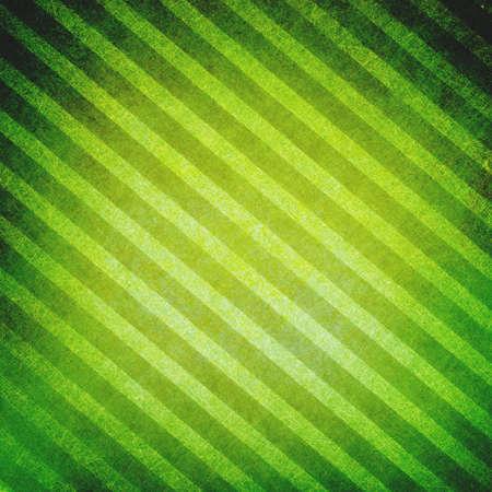 diagonal: green striped background, vintage texture on diagonal lines background pattern Stock Photo