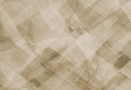 diagonal  square: abstract background brown faded square and diamond shaped transparent layers in diagonal pattern background Stock Photo