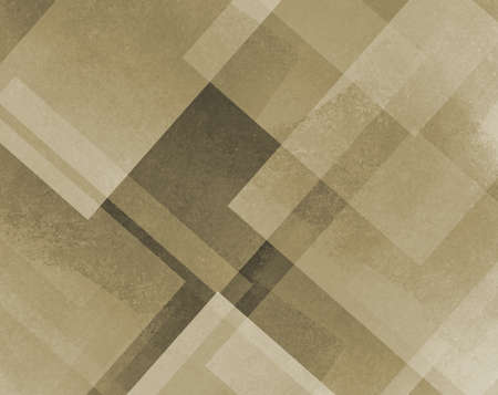 diamond shaped: abstract background brown and beige square and diamond shaped transparent layers in diagonal pattern background