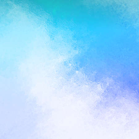 blue cloudy sky: abstract blue cloudy sky concept with glass texture Stock Photo
