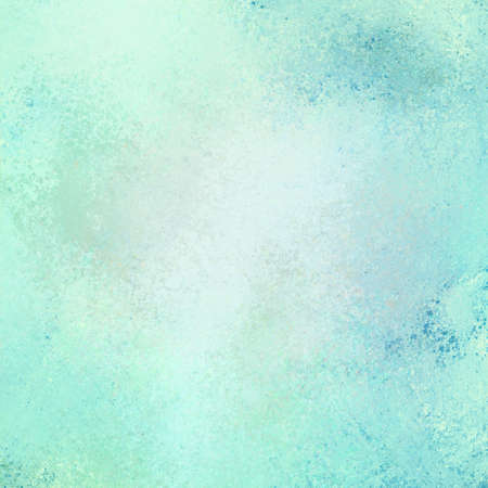 robins: old vintage sky blue background illustration, distressed old texture and white and blue blurred color paint, old background paper
