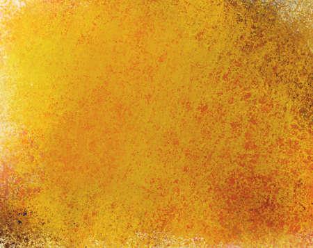 gold background paper with vintage grunge background texture design, elegant grungy gold backdrop