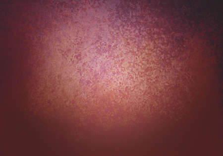 burgundy background: burgundy background texture with purple and gold color tones and black vignette border Stock Photo