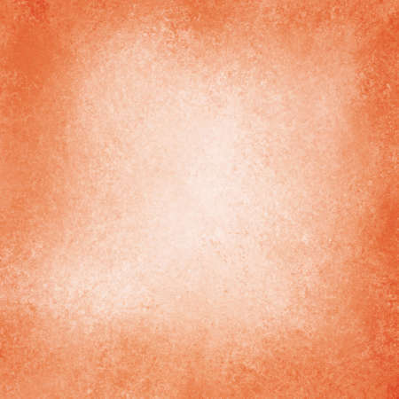 solid color: old orange paper background, off white center, vintage paper with burnt edges or grunge border design, peach color with aged distressed texture and stains