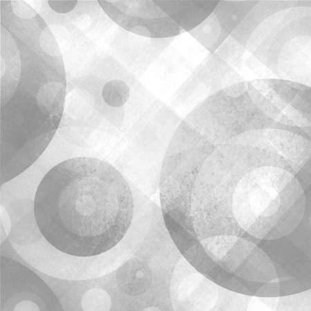 spot the difference: abstract white and gray background with circles squares diamonds and target shape design pattern, graphic art design for website and products
