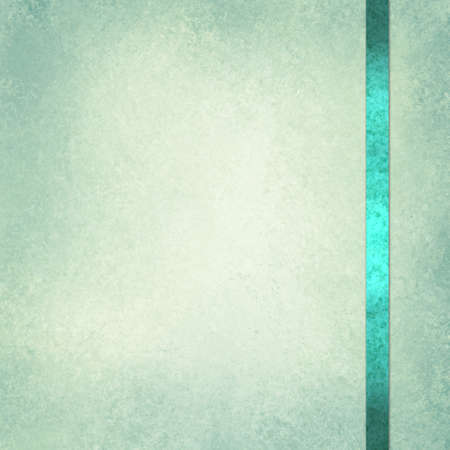 elegant green background paper with shiny teal green ribbon accent and beige center
