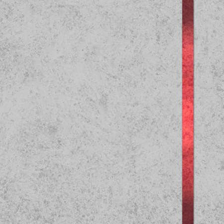 elegant gray background paper with red ribbon accent