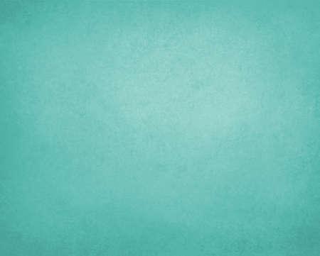 青緑緑の背景紙、ビンテージ テクスチャと苦しめられた柔らかい淡いブルー グリーン色
