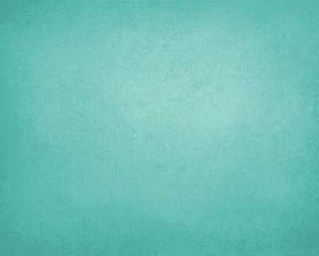 teal blue green background paper, vintage texture and distressed soft pale blue green color Reklamní fotografie - 40022725
