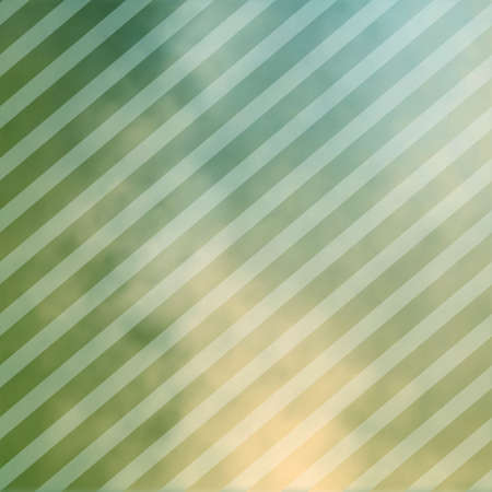 blotchy: abstract green striped background pattern with blurred blotchy under painting with white faded lines angled in soft overlay Stock Photo
