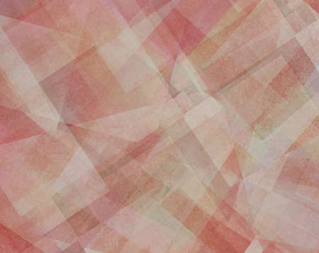 red pink: abstract background red pink orange and white square and diamond shaped transparent layers in diagonal pattern background