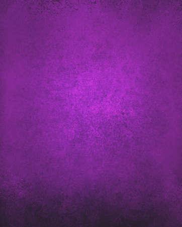 purple background paper, vintage texture and distressed black grunge border Foto de archivo