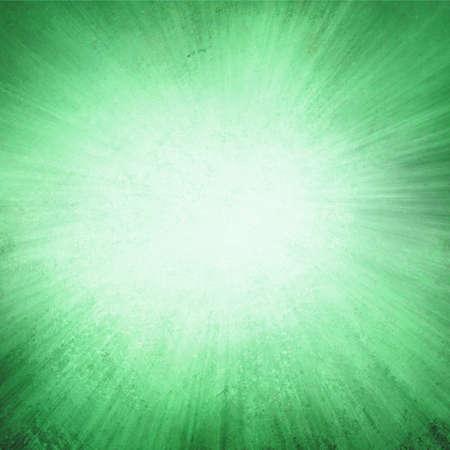 radiate: green background, green streaks of light radiate from center to dark green frame in sunburst pattern