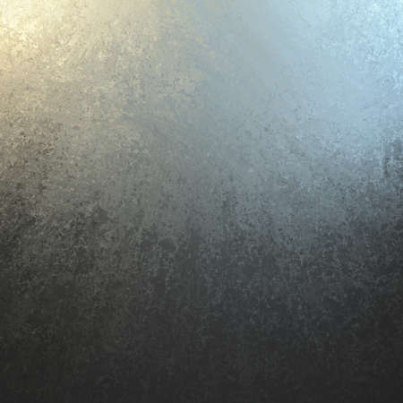 smeared: silver gray and black background texture. yellow spotlight corner and smeared black grunge design.