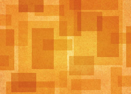 fine detail: abstract rectangle shapes background with gold and orange geometric angles and lines in fine detail pattern, autumn color background layout Stock Photo