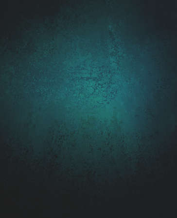 dark blue green and black background, teal background with spotlight center