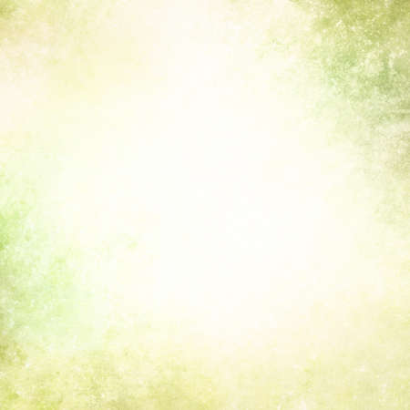 vintage distressed  yellow green and white background texture layout
