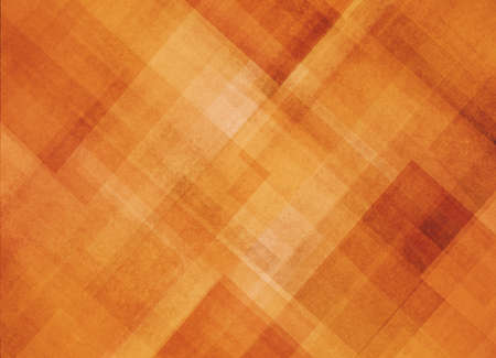 abstract orange background pattern of diagonal shapes layered in angles diamonds rectangles squares and lines, abstract graphic art design pattern