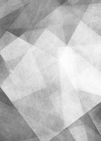 angles: abstract black and white background, triangles angles and line pattern Stock Photo