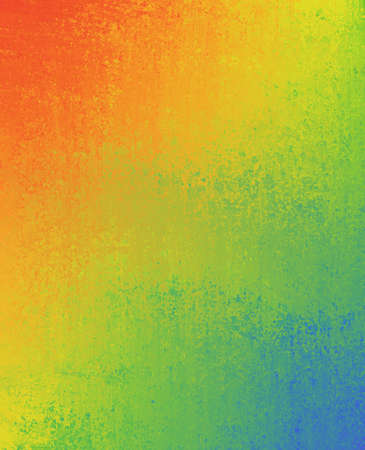 smeary: rainbow colors, grunge textured background