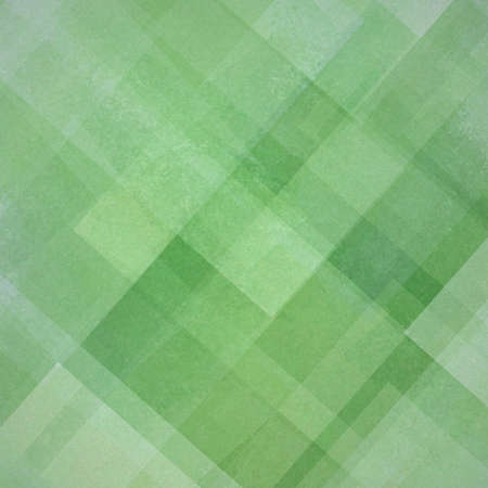 diamond shaped: abstract background green and white square and diamond shaped transparent layers in diagonal pattern background