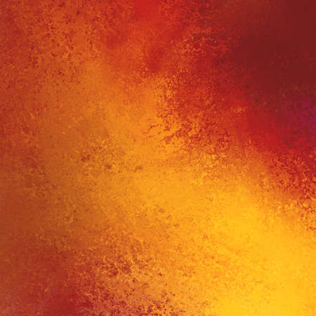 red wall: Orange red background. Autumn background with texture, lighting Stock Photo