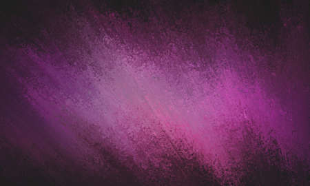 sponged: abstract purple pink paint on black border, purple background