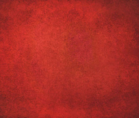 solid background: solid red background design with distressed vintage texture Stock Photo