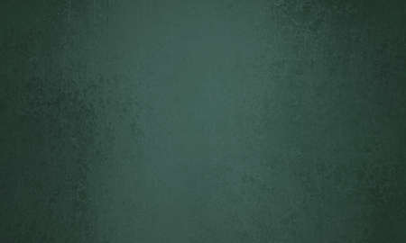 sponged: abstract faded dark green background or Christmas paper. Sponged vintage background texture. Stock Photo