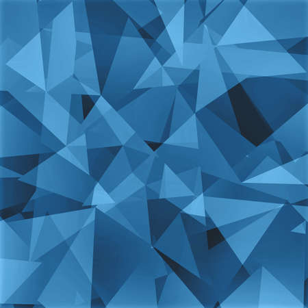 angled: abstract triangle background, black gray and blue angled shapes in random design